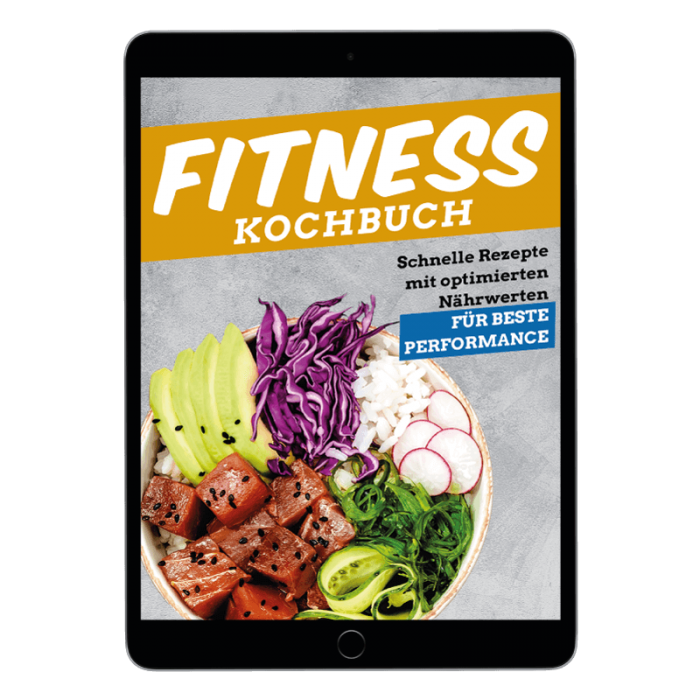 Fitness Kochbuch von FITFORE